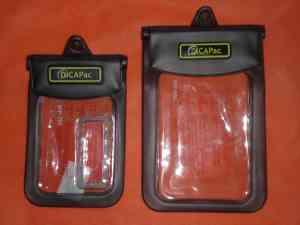 DiCAPac waterproof case digital camera